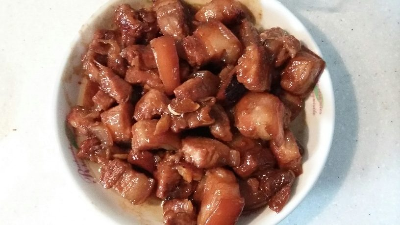 Red Braised Pork(红烧肉)